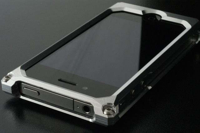 アルミiPhoneケース Ver.D